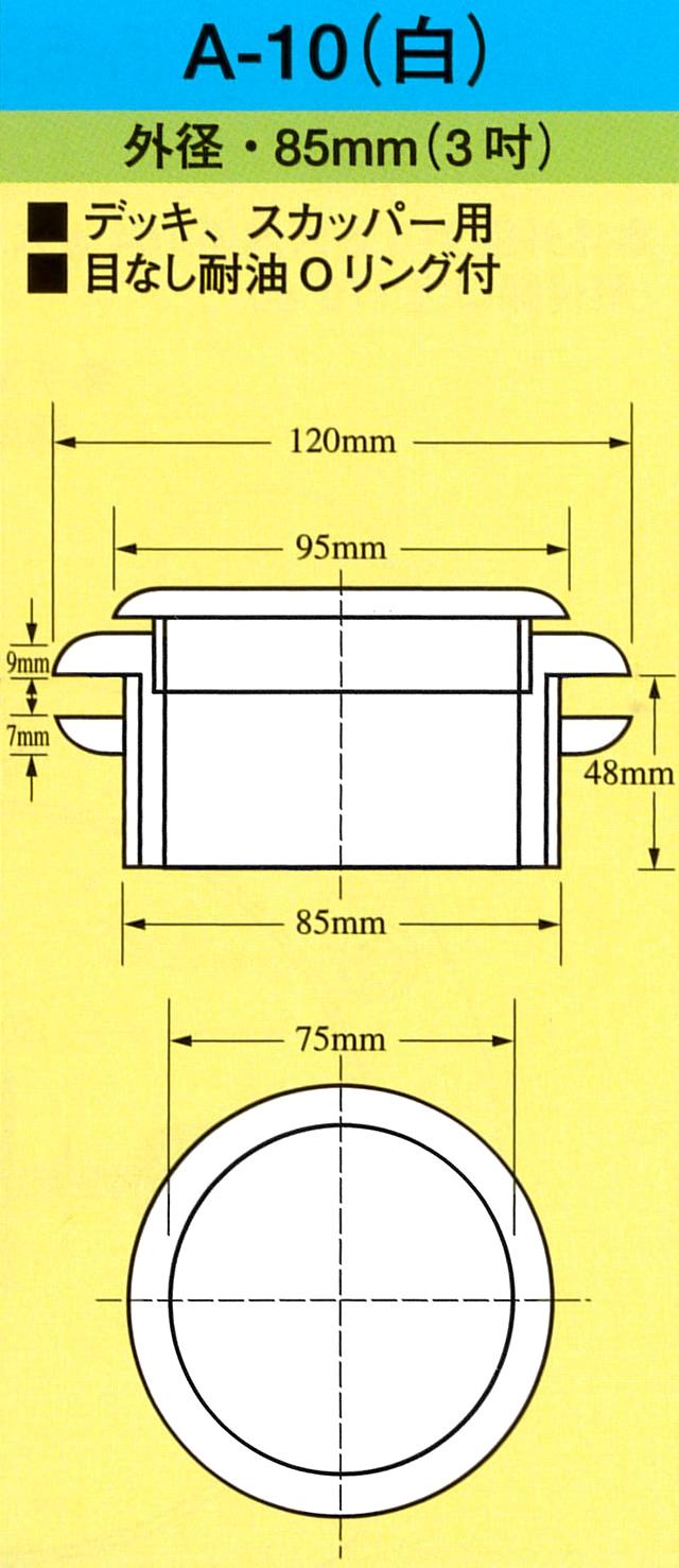 イケダ式 デッキスカッパー A-10